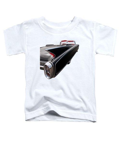 1960 Cadillac Eldorado Biarritz Tail Fin Toddler T-Shirt