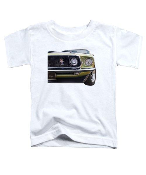1969 Mustang Mach 1  Toddler T-Shirt