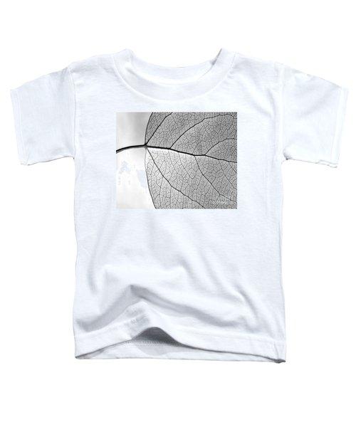 Aspen Leaf Veins Toddler T-Shirt
