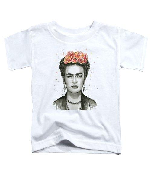Frida Kahlo Portrait Toddler T-Shirt