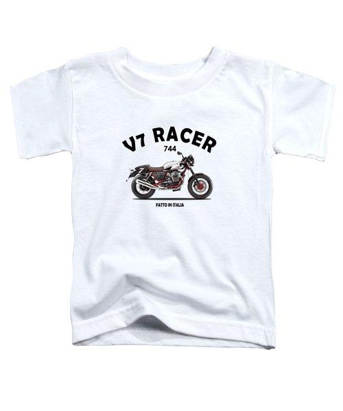 Moto Guzzi V7 Racer Toddler T-Shirt