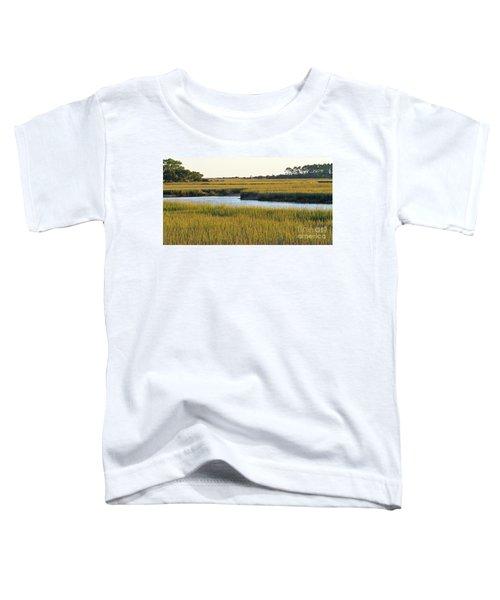 South Carolina Salt Marsh Toddler T-Shirt