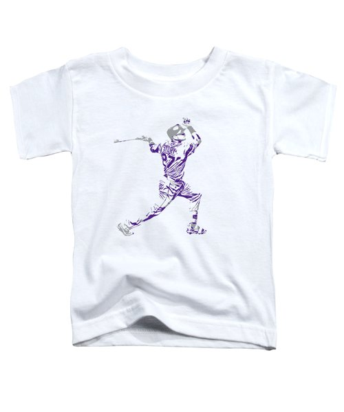 Trevor Story Colorado Rockies Pixel Art 11 Toddler T-Shirt