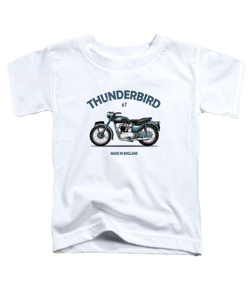 Triumph Thunderbird 1955 Toddler T-Shirt