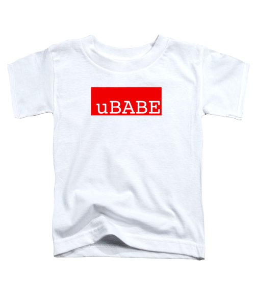 uBABE Label Toddler T-Shirt