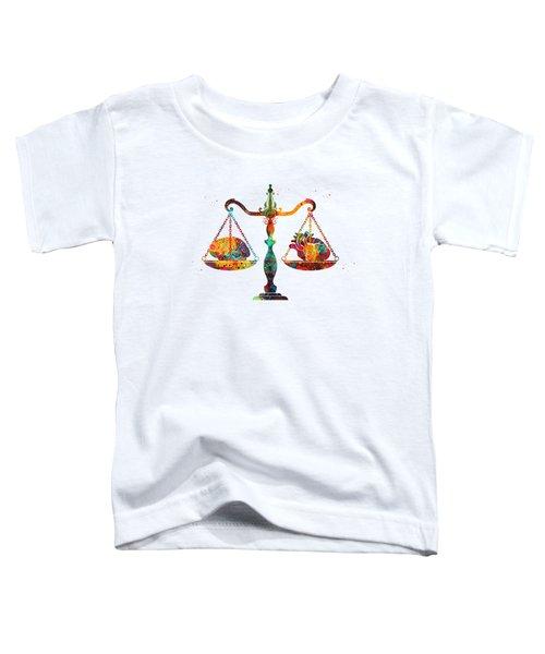 Balance Scale Toddler T-Shirt