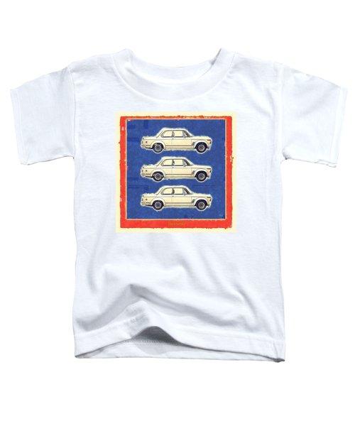 3 Bmw 2002 Turbo Paint Toddler T-Shirt
