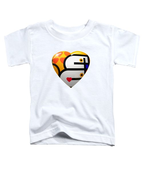 Love Heart Toddler T-Shirt