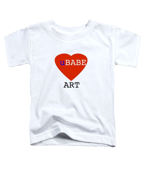 uBABE Art Toddler T-Shirt