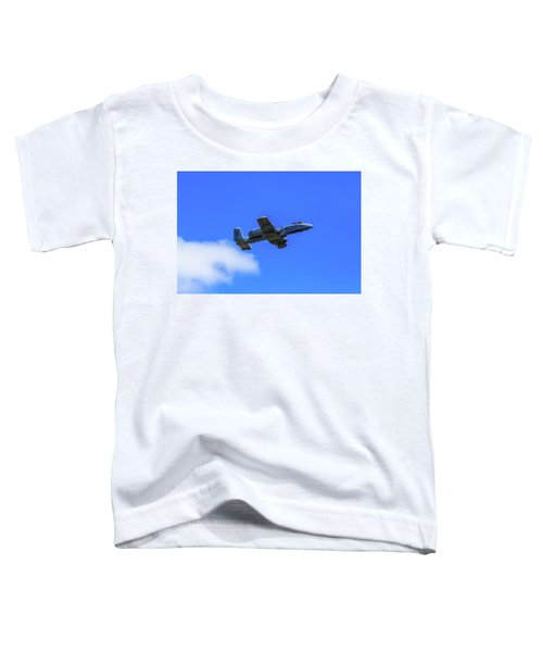 A-10c Thunderbolt II In Flight Toddler T-Shirt