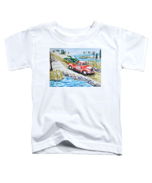 A Cape Cod Christmas Toddler T-Shirt