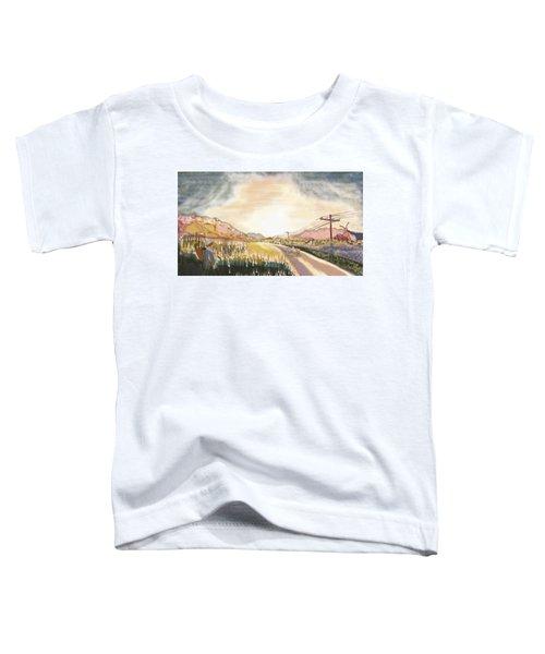 A Scenic Landscape Toddler T-Shirt