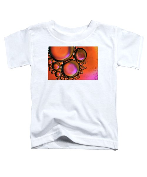 Abstract Droplets Toddler T-Shirt