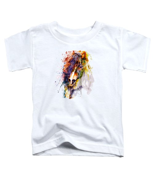 Abstract Horse Head Toddler T-Shirt