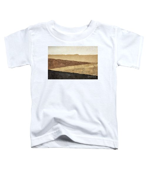 Abstract Landscape In Earth Tones Toddler T-Shirt