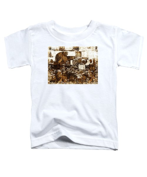 Abstract Map Toddler T-Shirt