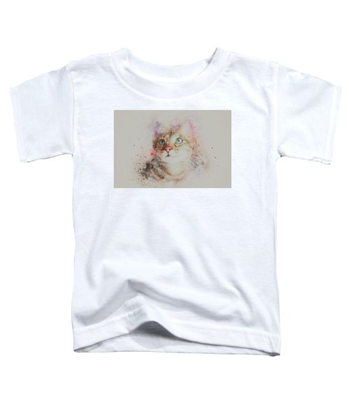 Abyssinian Cat Toddler T-Shirt