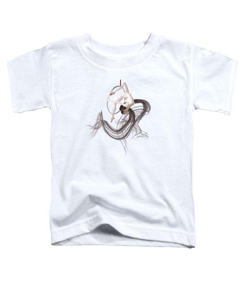 Aerial Hoop Dancing Hanging In The Balance Toddler T-Shirt