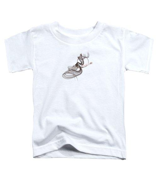 Aerial Hoop Dancing Happiness Toddler T-Shirt