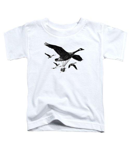 Aero Canada - Bw Toddler T-Shirt