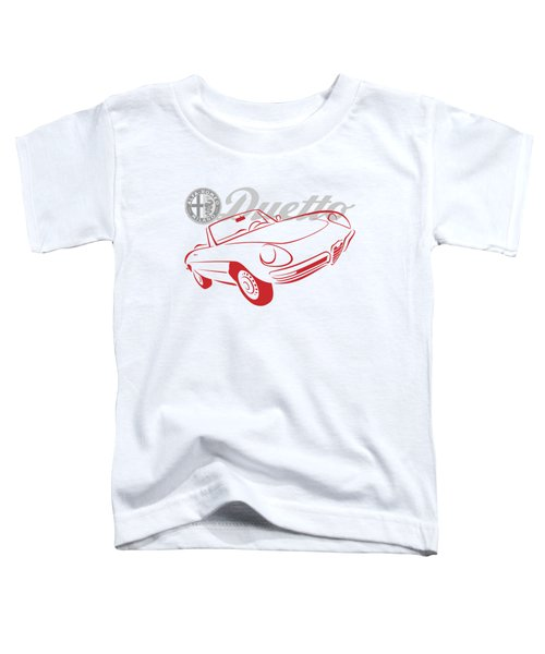 Alfa Duetto Spider-1 Toddler T-Shirt