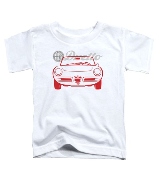 Alfa Duetto Spider-2 Toddler T-Shirt