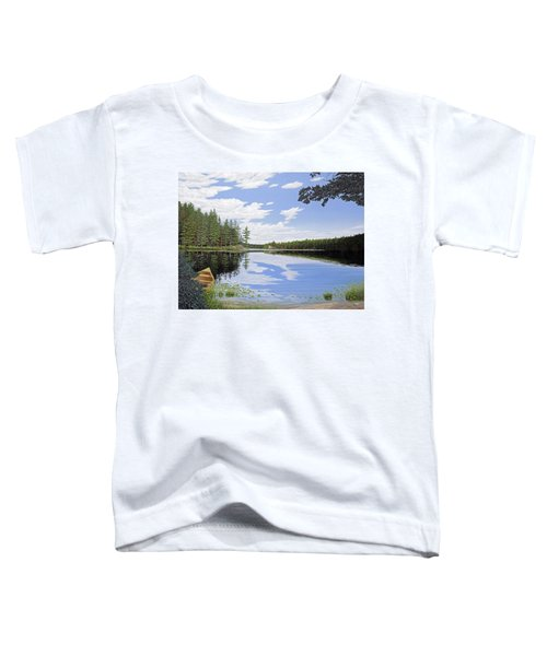 Algonquin Portage Toddler T-Shirt