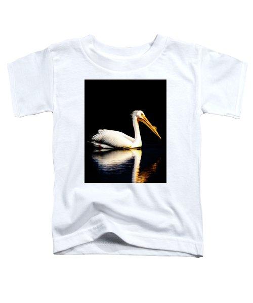 American White Pelican Toddler T-Shirt