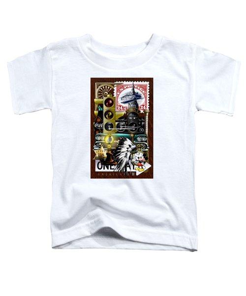 Americana Toddler T-Shirt