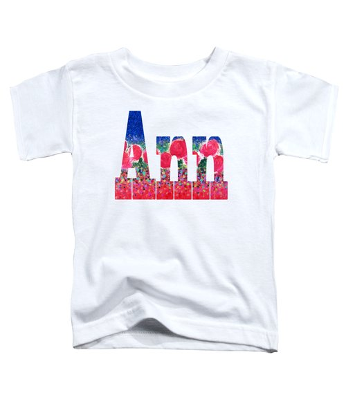 Ann Toddler T-Shirt