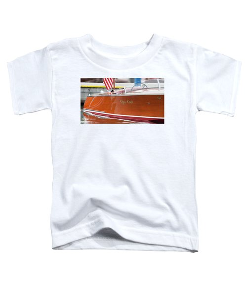 Antique Wooden Boat 1305 Toddler T-Shirt