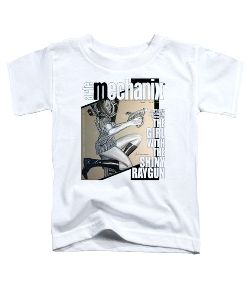 arteMECHANIX 1906 The GIRL WITH The SHINY RAYGUN GRUNGE Toddler T-Shirt