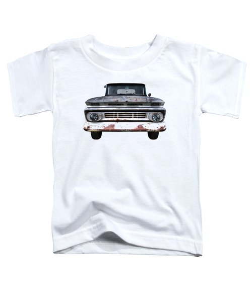 Rust And Proud - 62 Chevy Fleetside Toddler T-Shirt
