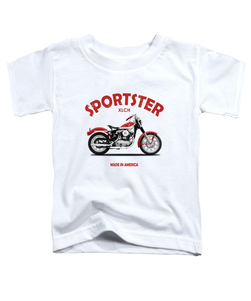 The Vintage Sportster Motorcycle Toddler T-Shirt