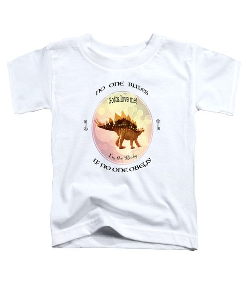 No One Rules If No One Obeys By Olena Art Toddler T-Shirt