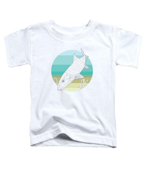 Flats Ghost Toddler T-Shirt