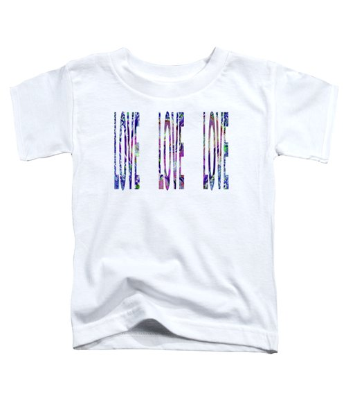 Love Letters 3 Toddler T-Shirt