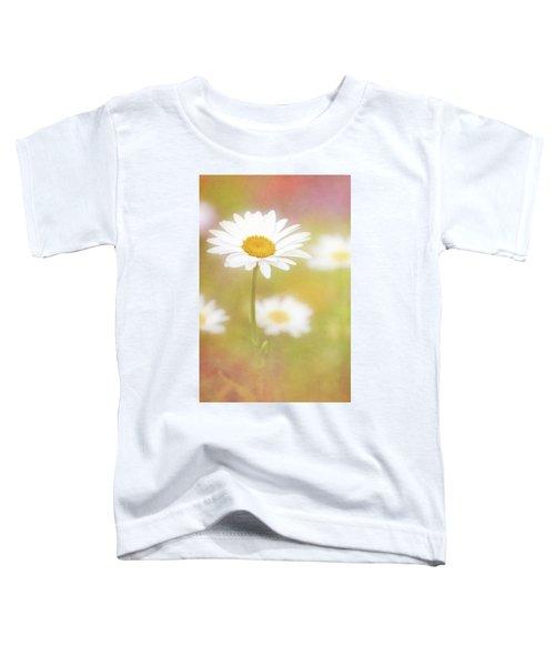 Delightful Daisy Portrait Toddler T-Shirt