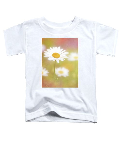 Delightful Daisy Portrait Toddler T-Shirt