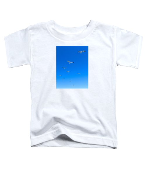 Ascending To Heaven Toddler T-Shirt