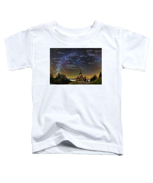 Astrophotography Winter Wonderland Toddler T-Shirt