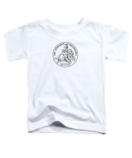 Athenaeum Of Philadelphia Logo Toddler T-Shirt