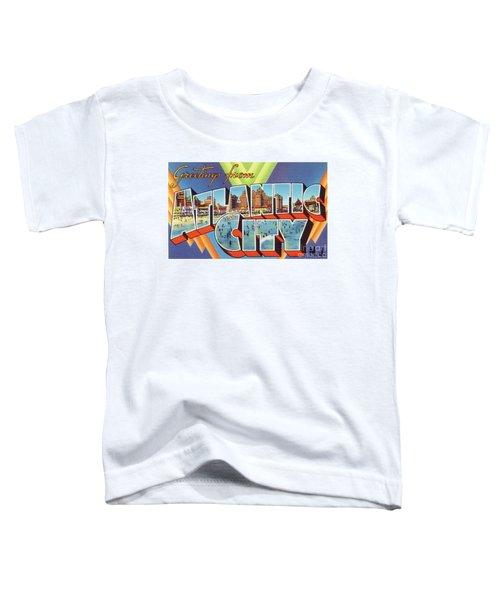 Atlantic City Greetings #4 Toddler T-Shirt