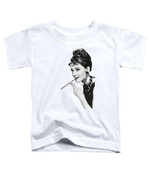Audrey Hepburn As Holly Golightly 1961 - T-shirt Toddler T-Shirt
