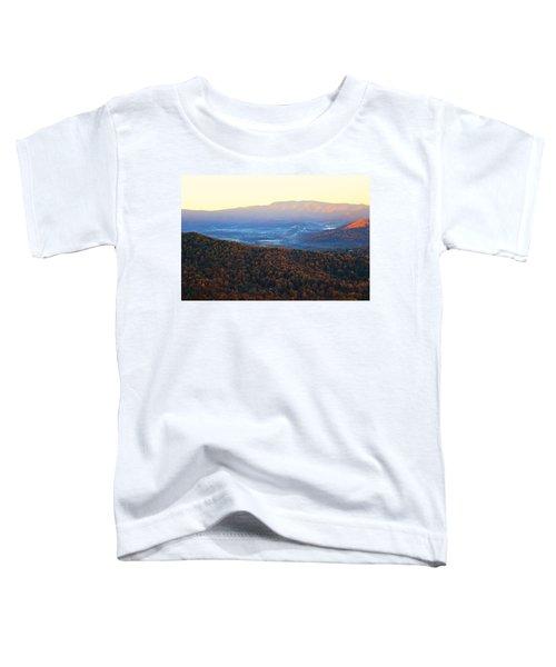 Autumn Mountains  Toddler T-Shirt
