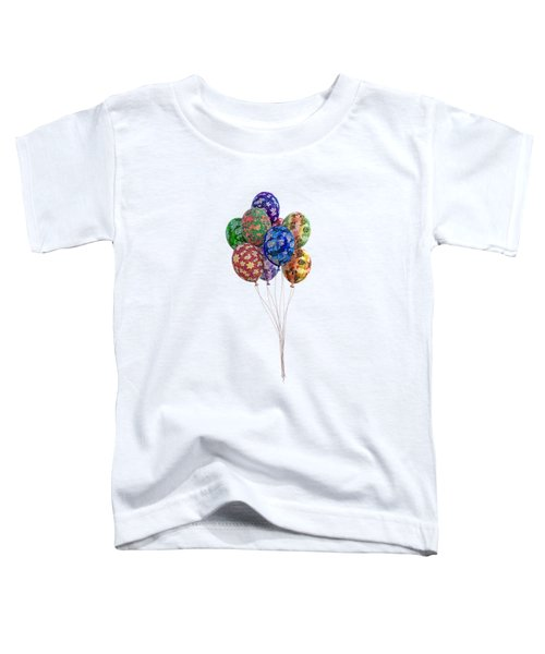 Balloons Perfect Touch Toddler T-Shirt