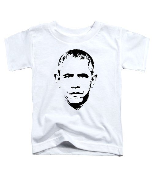 Barack Obama Minimalistic Pop Art Toddler T-Shirt