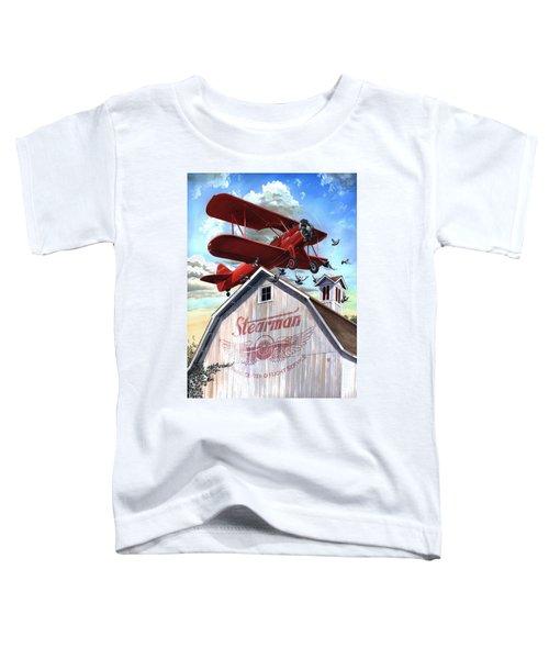 Barn Stormer - Customizeable Toddler T-Shirt