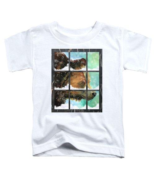 Bear Outside My Window Toddler T-Shirt
