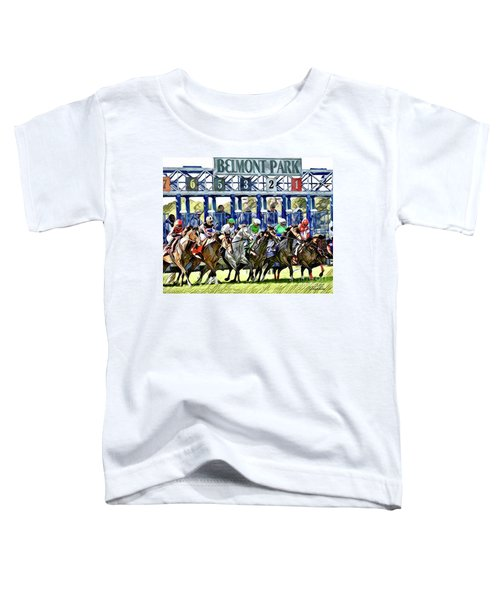 Belmont Park Starting Gate 1 Toddler T-Shirt